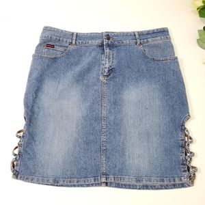 Fubu collection jean skirt.Size 14W